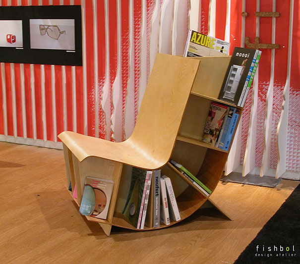 creative bookshelves 7 2 Creative Bookshelf Designs