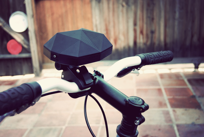 The Turtle Shell, a wireless weather proof speaker