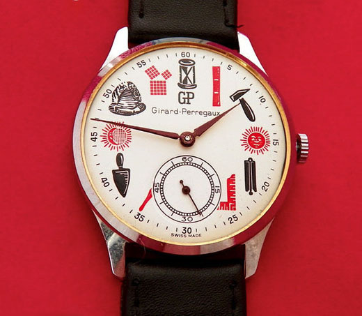 girard perregaux 1 Vintage Girard Perregaux Masonic Watches