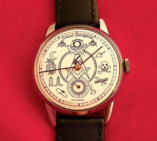 girard perregaux 3 Vintage Girard Perregaux Masonic Watches