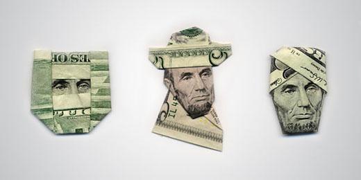 money origami 2 Moneygami by Yosuke Hasegawa