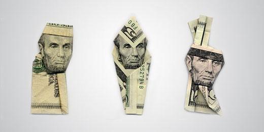 money origami 4 Moneygami by Yosuke Hasegawa