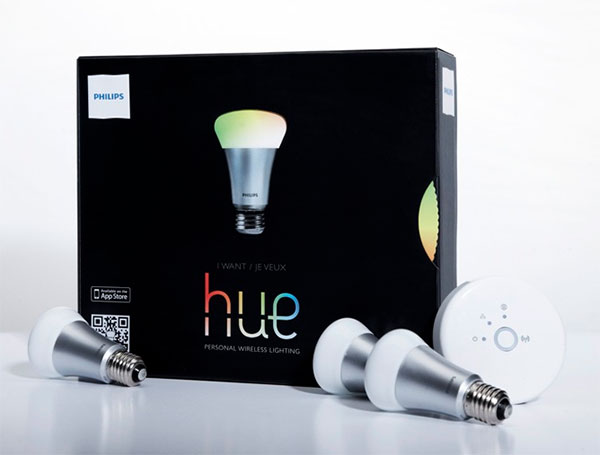 philips hue led light bulbs 1 Philips Hue LED Bulbs Controlled Using Your Smartphone