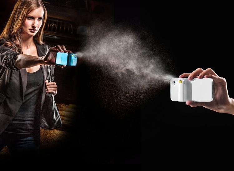 spraytect pepper spray phone case large Spraytect, Pepper Spray iPhone Case