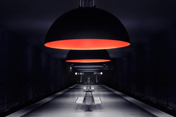 subway by nick frank 600x400 Lighting Design: The Incredible Munich Subway