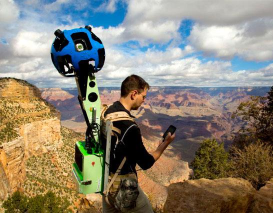 Big Brother portátil: Google Street View ganha mais uma nova câmera
