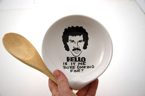 tumblr mbyhd3Sihw1qiqf01o1 500 Hello Is It Me You're Cooking? For Lionel Richie Spoon Rest
