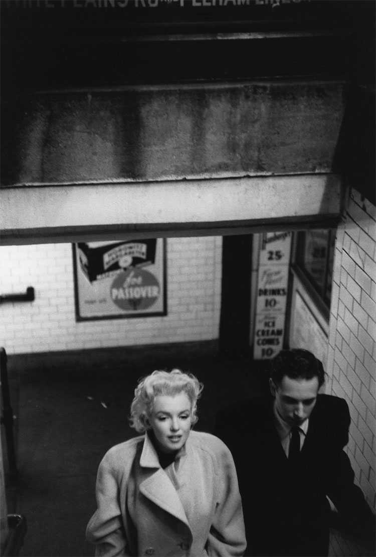 1011 Marilyn Monroe in New York by Ed Feingersh, 1955