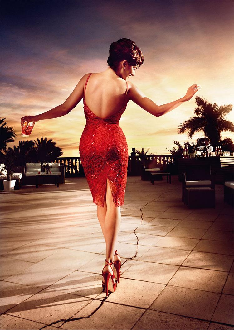 1016 Penelope Cruz in the Campari 2013 Calendar by Kristian Schuller