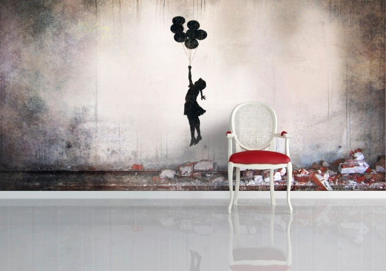 105 750x527 Banksy's Famous Street Art on Your Walls