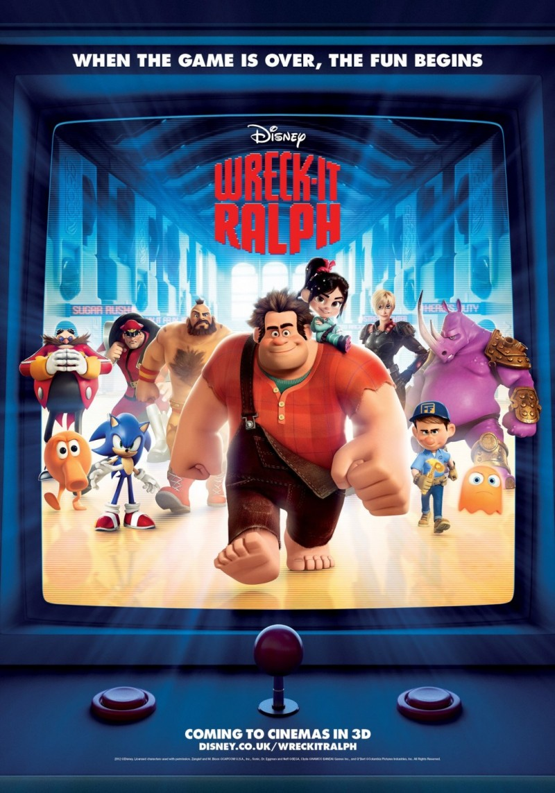 1146 Wreck It Ralph Posters