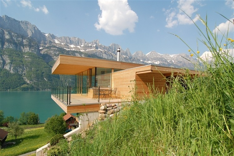 144 Walensee House by k m Architektur