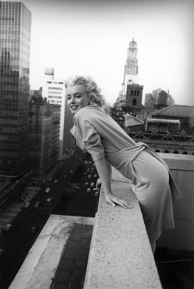 158 Marilyn Monroe in New York by Ed Feingersh, 1955