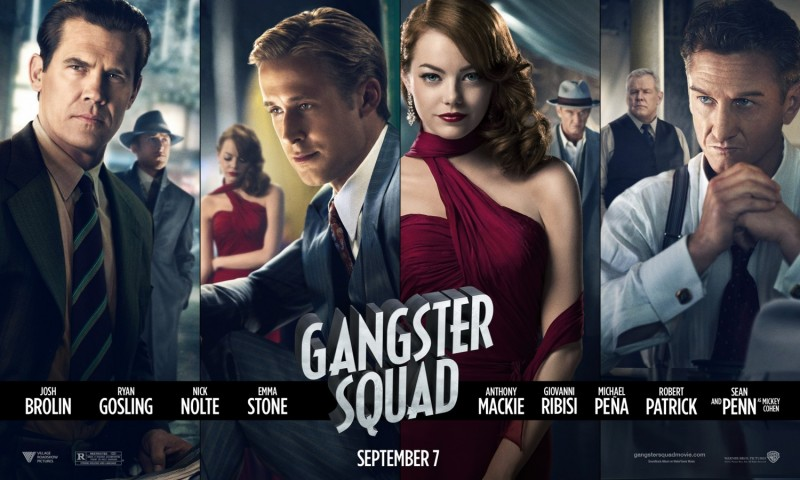 198 Gangster Squad Movie Posters