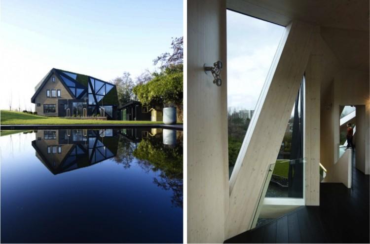 1JM pict 16 750x494 Eine Villa in Rotterdam, Ooze Architekten