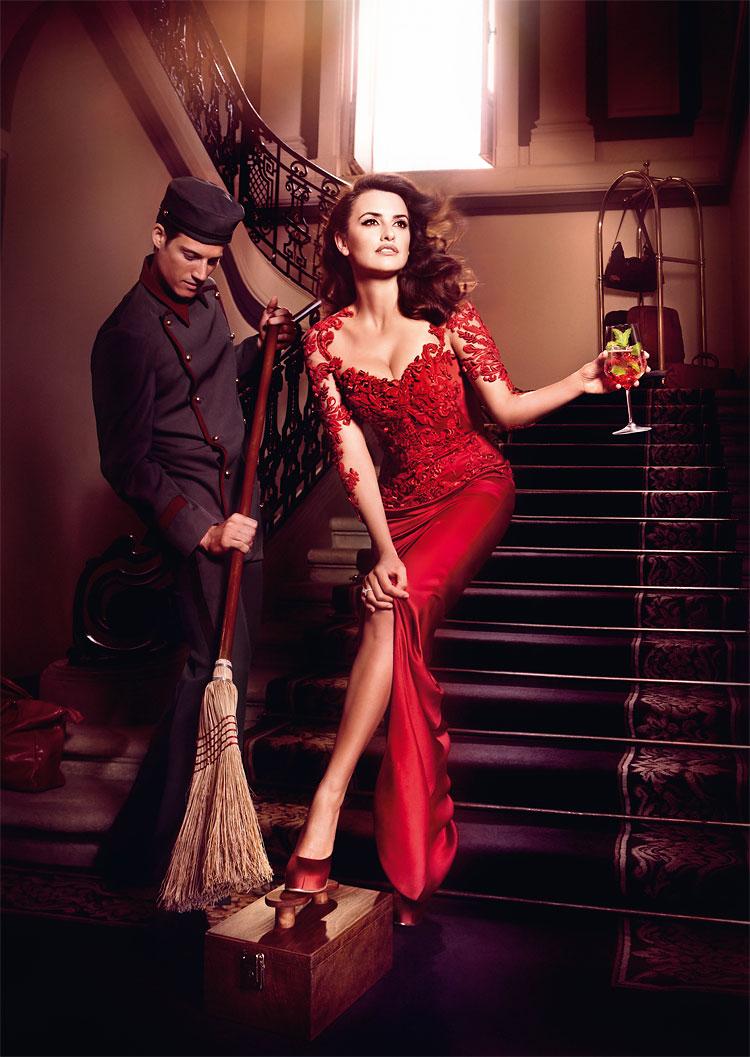 529 Penelope Cruz in the Campari 2013 Calendar by Kristian Schuller