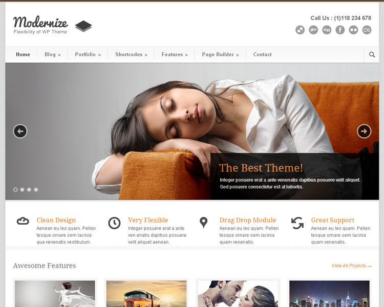 541 60+ Best Free and Premium WordPress Themes