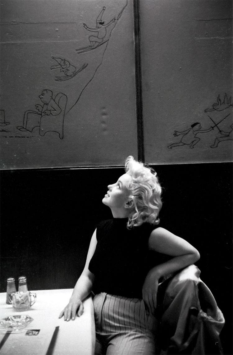 614 Marilyn Monroe in New York by Ed Feingersh, 1955