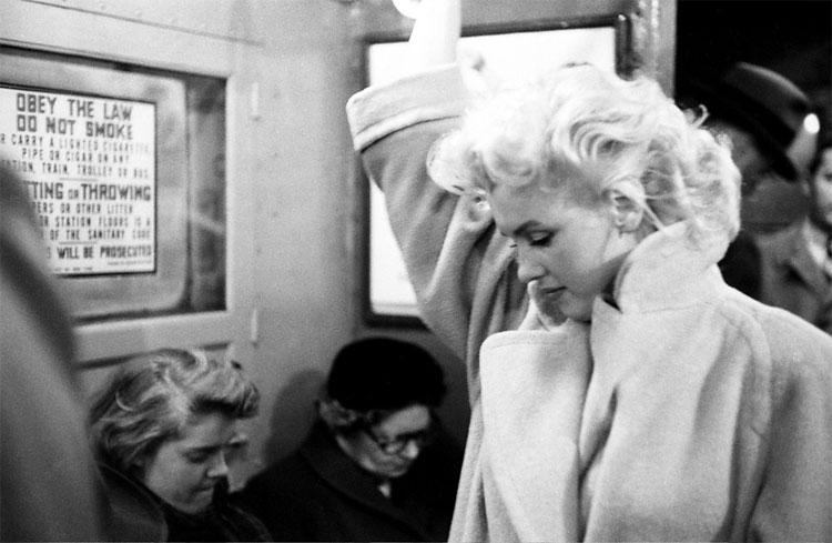 710 Marilyn Monroe in New York by Ed Feingersh, 1955