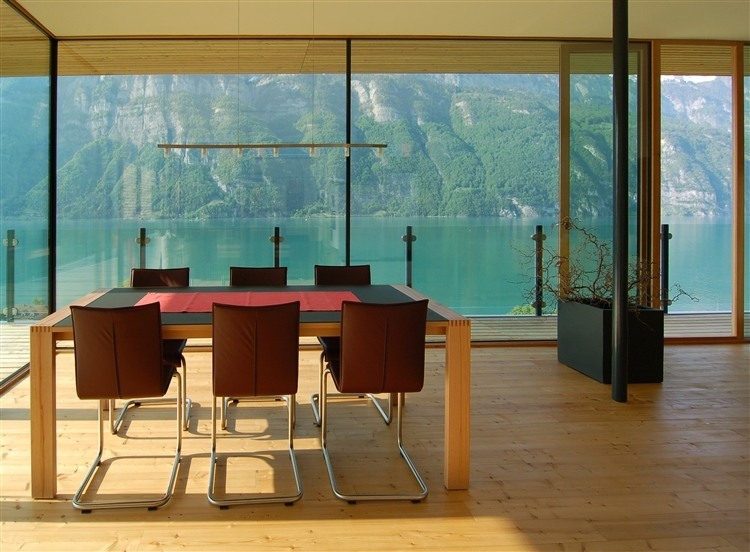 93 Walensee House by k m Architektur