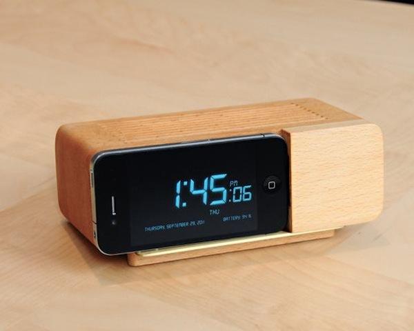 ALARM DOCK1 Alarm Dock For iPhone