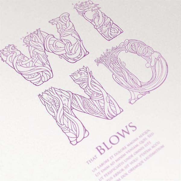Ania Szerszen  3600 600 Typography by Ania Szerszen