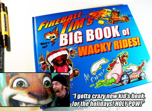 BookImage1 Really Wacky Rides by Fireball Tim