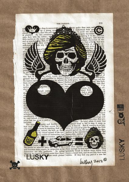 Dead princess Lusky unique print for £5