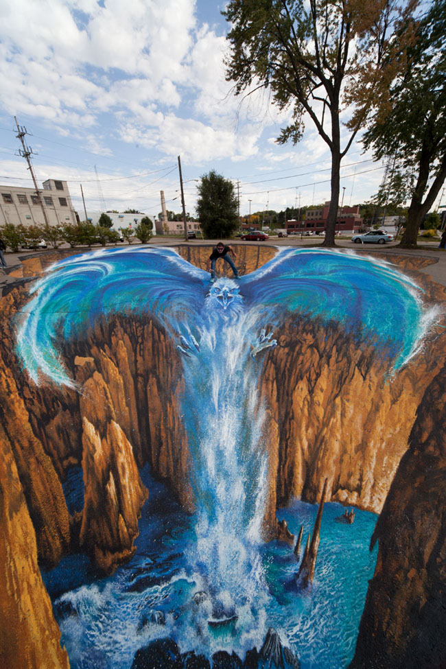 Edger Mueller 22 Exclusive 3D Street Art By Edgar Mueller