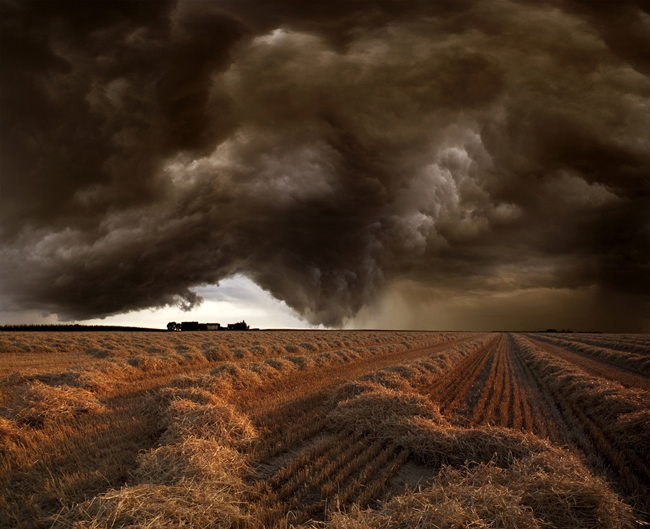 Harvest Storm 2 Harvest Time Photo Series By Franz Schumacher