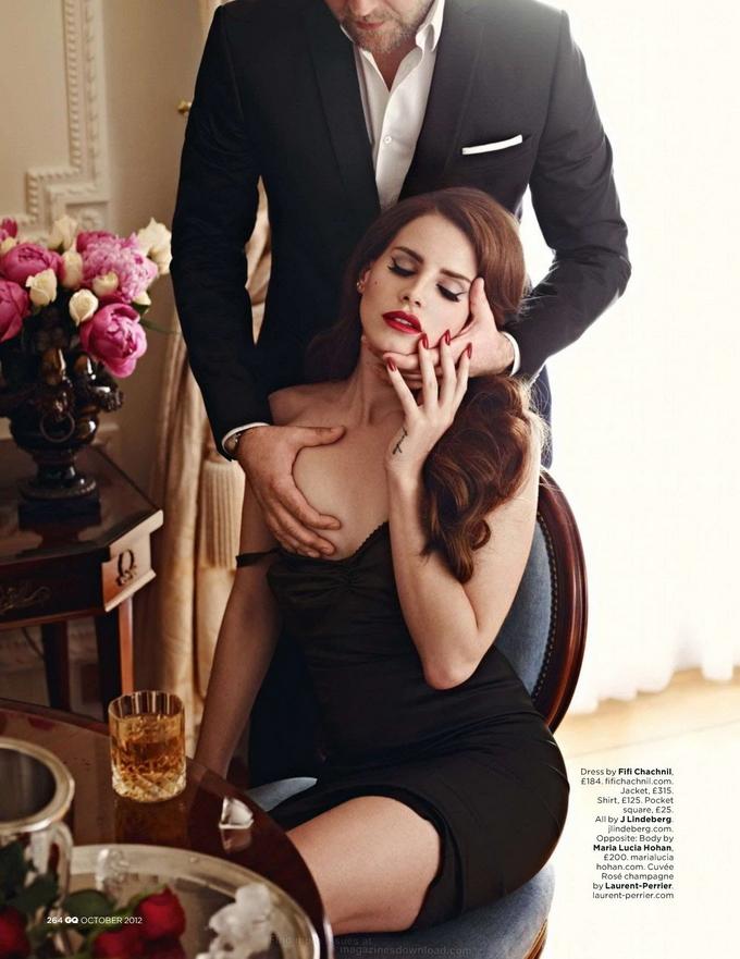 LanaDelReyGQ06 Lana Del Rey gets Nude for GQ UK