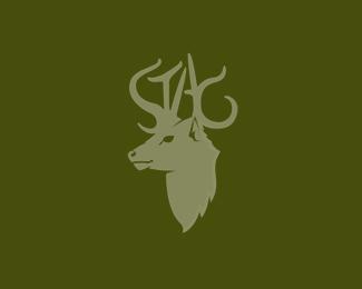 Stag Animal Logos