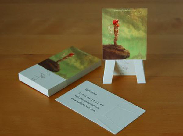 Stunning 3D Business Cards 11 3D Business Cards