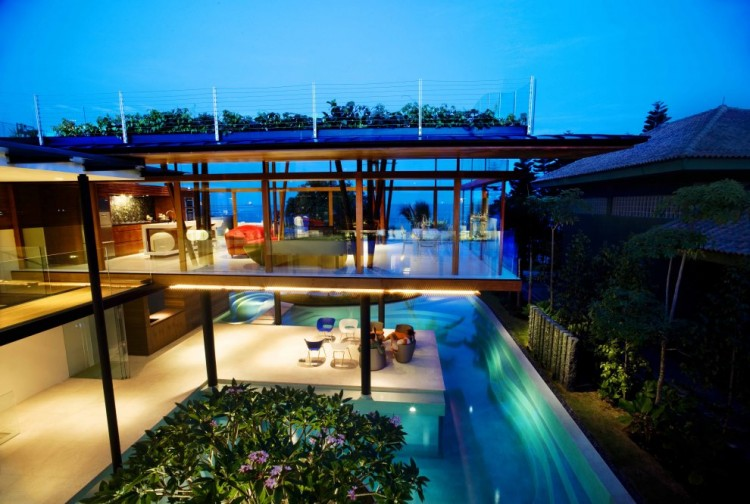 The Fish House Singapore designed by Guz Architects 2 750x504 ARCHITECTURE – THE FISH HOUSE BY GUZ ARCHITECTS