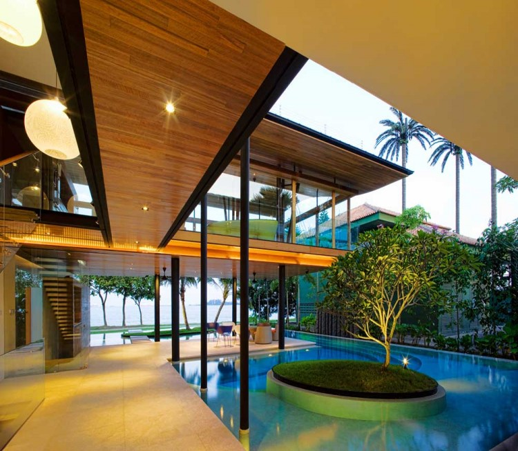 The Fish House Singapore designed by Guz Architects 7 750x654 ARCHITECTURE – THE FISH HOUSE BY GUZ ARCHITECTS