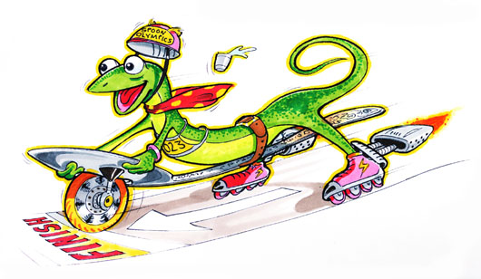 TinyRacers2 TheSpoonster copy1 Really Wacky Rides by Fireball Tim