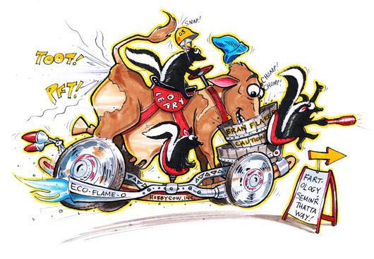 Windbreaker Really Wacky Rides by Fireball Tim