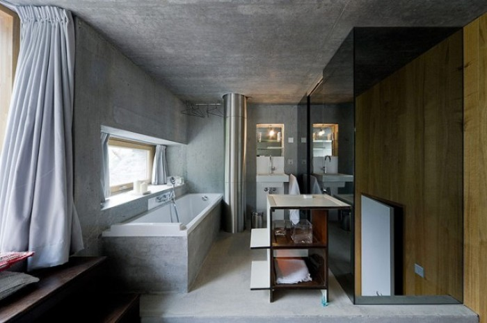 Villa Vals in der Schweiz