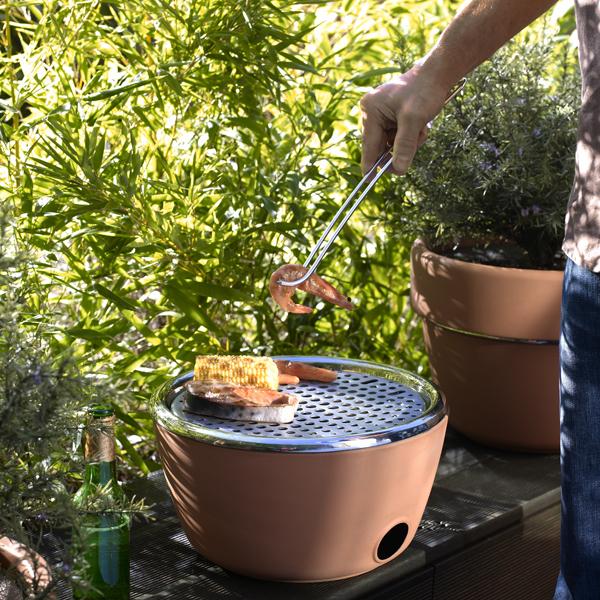 blackblumphoto2 Herb Garden BBQ: Better Grilling through Design