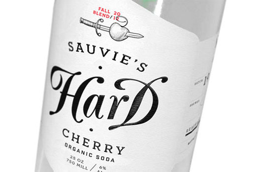 cherry 4 Sauvie's Hard Cherry Packaging by Orion Janeczek