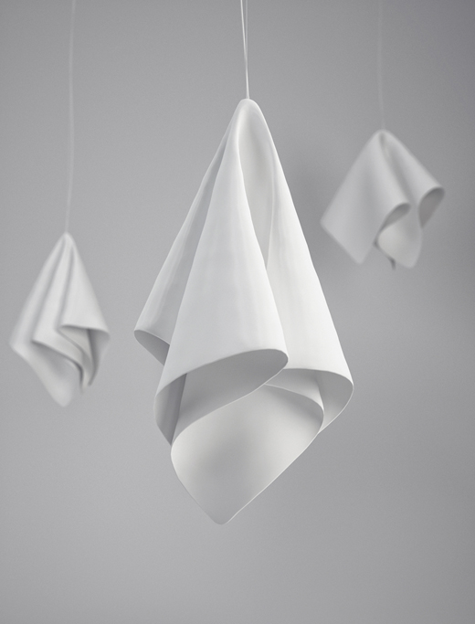 cloth 2 Cloth Lamp by Artem Zigert