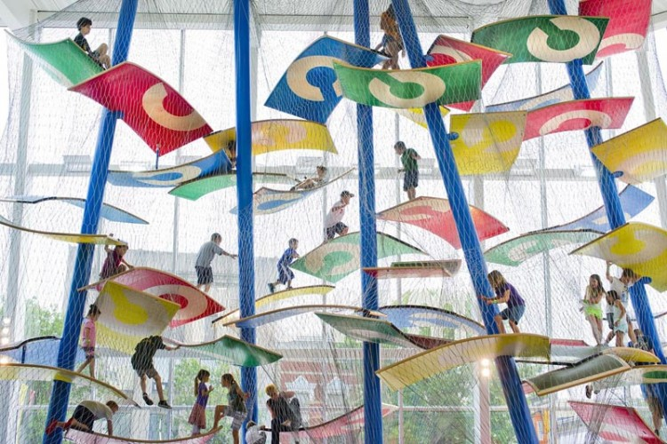 columbusCommons Luckey Climber collabcubed 750x500 Indoor Playground at Columbus Commons