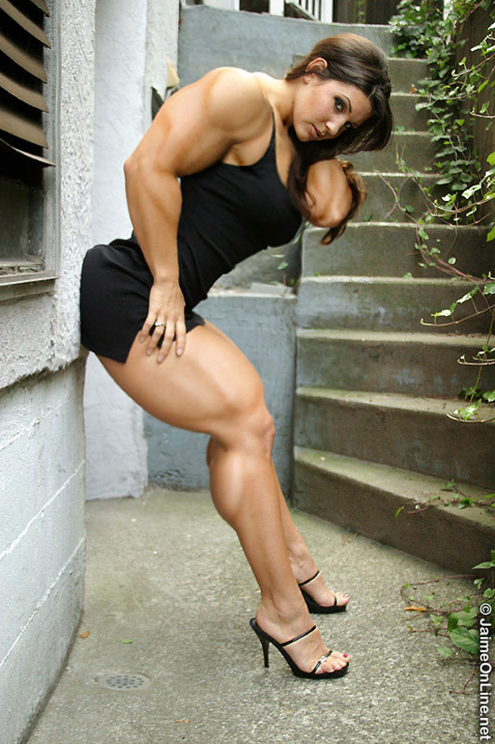 female muscle 103 Muscular Women Photography By BigDane