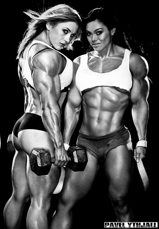 female muscle 135 Muscular Women Photography By BigDane