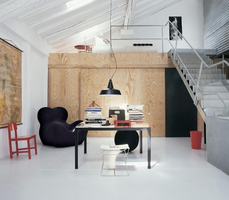 in 3 Modern Light Loft Interiors