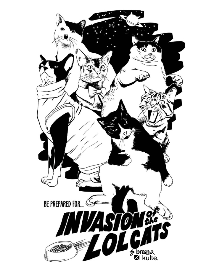 lolcats 750x900 Kulte x Brain Magazine INVASION OF THE LOLCATS