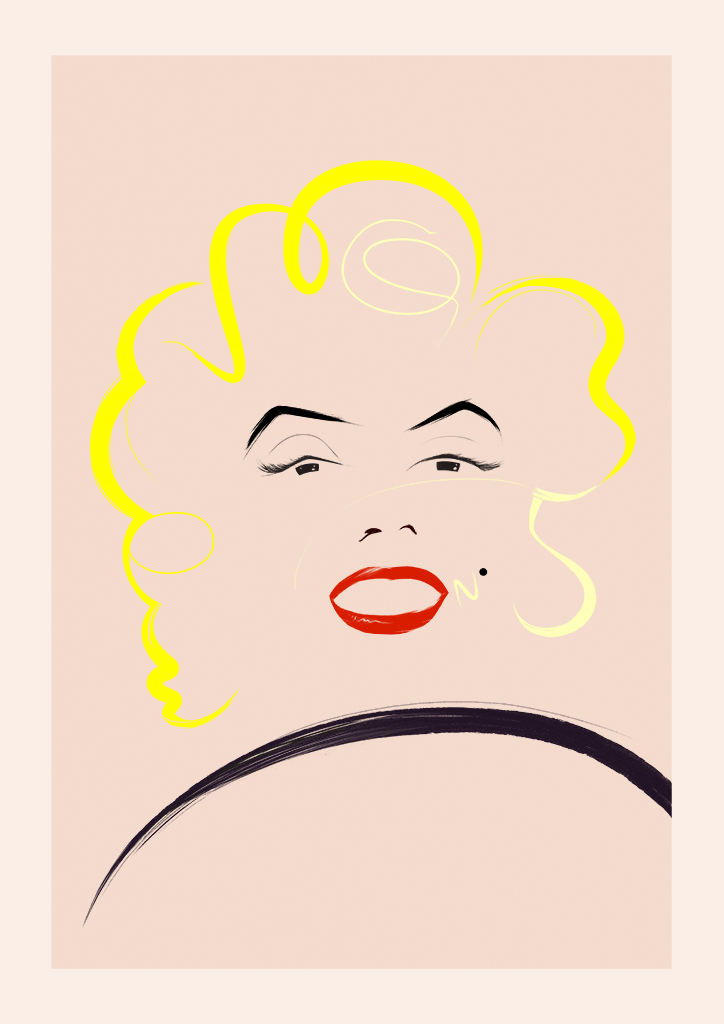 marilyn N°5 — Hand finished by Rocco Malatesta. On sale now.