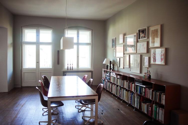 olaf hajek freunde von freunden 5602 750x499 Wohntrends: Apartment und Atelier, Olaf Hajek, Berlin