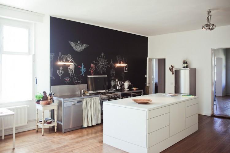 olaf hajek freunde von freunden 5633 750x499 Wohntrends: Apartment und Atelier, Olaf Hajek, Berlin
