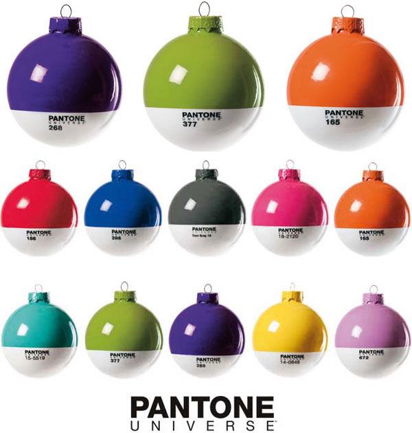 pantone x mass ball christmas 2 wasabimag Pantone Christmas Balls